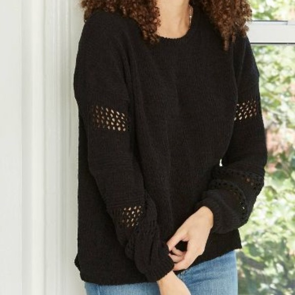 Knox Rose chenille sweater